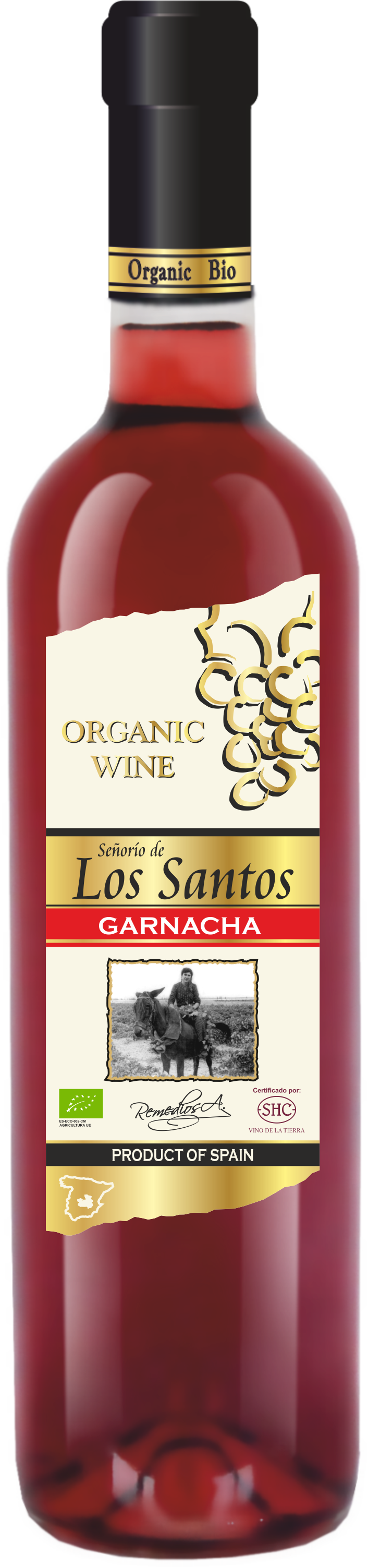 Señorio de Los Santos Garnacha 75 CL
